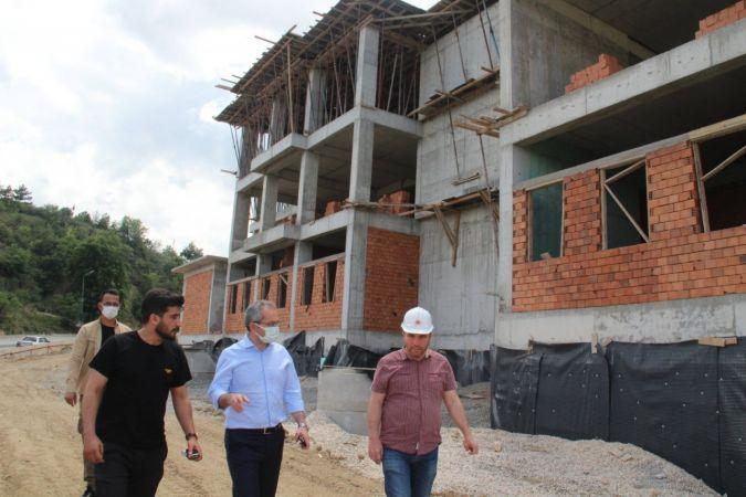 Tosya Adalet Sarayının yıl sonuna doğru bitmesi hedefleniyor