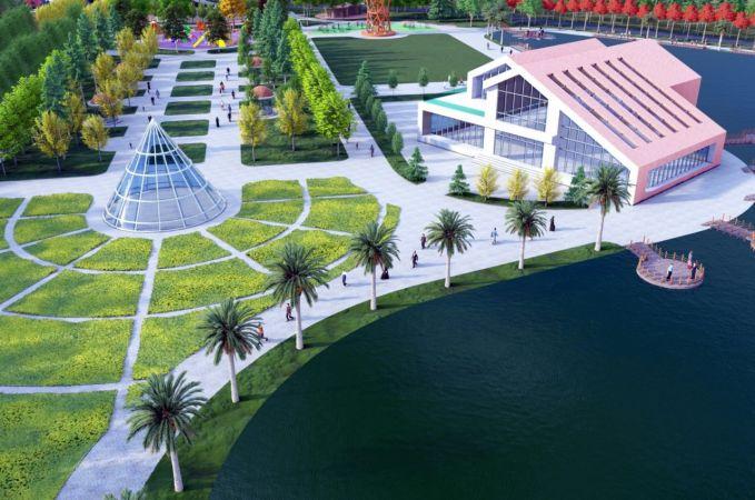 Muncurlu Park gölet yatırımcıları bekliyor