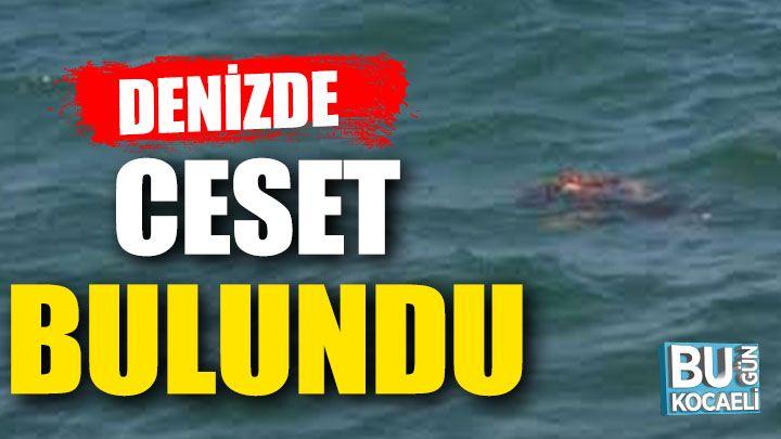 Kocaeli haber- Kocaeli'de denizde erkek cesedi bulundu