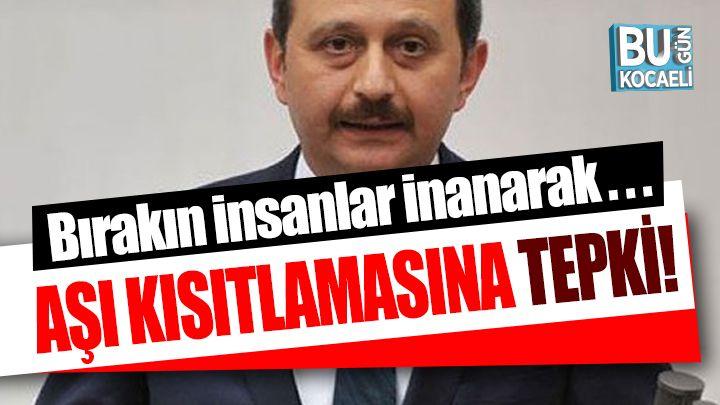 Aşı Olmayanlara Kısıtlama Olacak İddiasına Mehmet Akif Yılmaz'dan Tepki!
