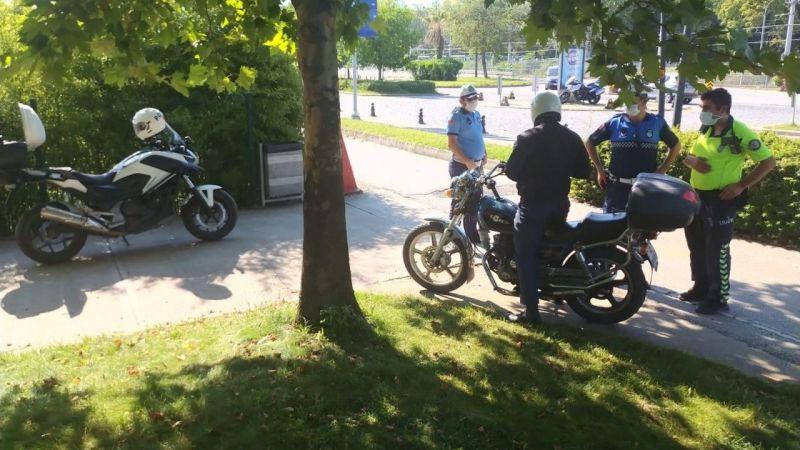 Kocaeli Haber - Sekapark'ta Motosiklet Kullanımına Sıkı Denetim