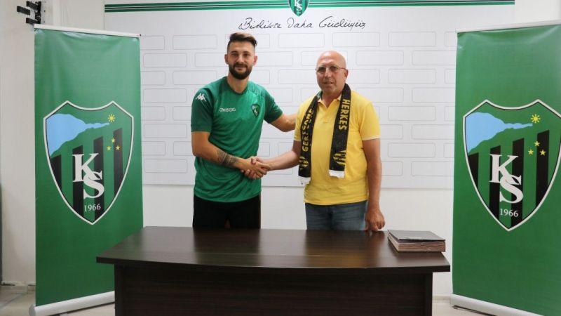 Kocaeli haber- Kocaelispor, Mehmet Taş ile 2 yıllık sözleşme imzaladı