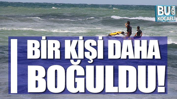 Kocaeli haber- Denize girmenin yasak olduğu Kandıra'da bir kişi daha boğuldu