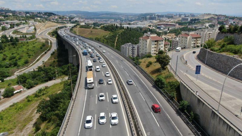 Kocaeli Haber - 9 Günlük Kurban Bayramı Tatilinde 4 Milyon Araç Kocaeli'den Geçti