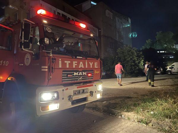 Kocaeli Haber - Tekstil atölyesinin elektrik panosunda çıkan yangın korkuttu