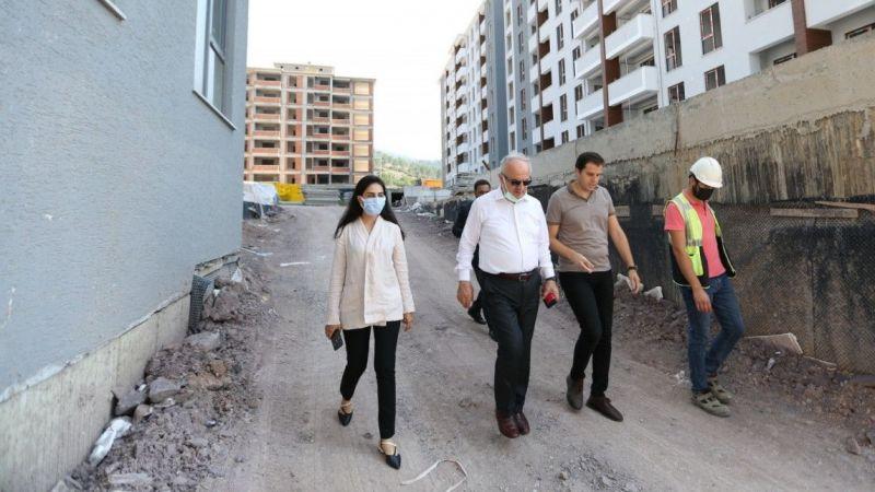 Kocaeli Haber - Zeki Aygün, devam eden projeleri inceledi