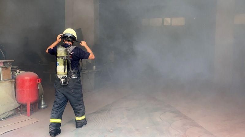 Kocaeli Haber - Kimya fabrikasının deposunda korkutan yangın