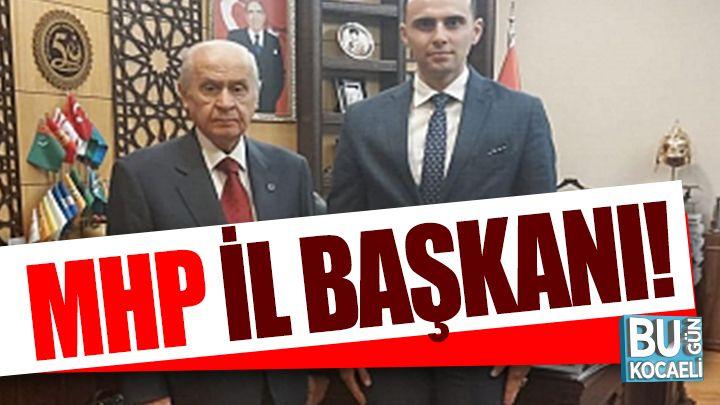Kocaeli haber - MHP'de İl Başkanı Yunus Emre Kurt!