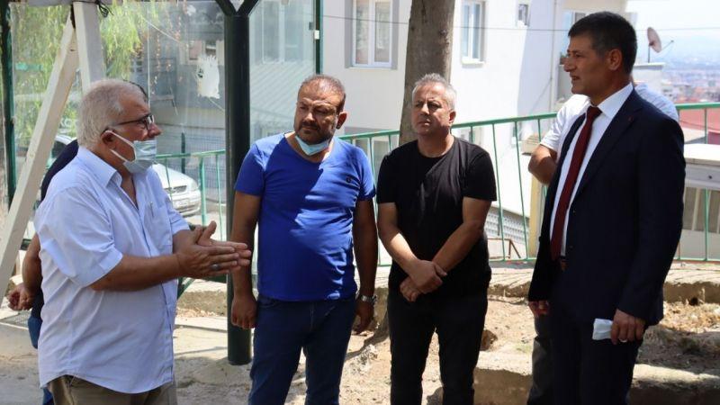 Kocaeli Haber - İzmit Belediyesi'nden Akşemsettin  Camii'ne malzeme desteği