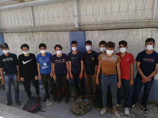 Kocaeli Haber - Kocaeli'de 19 kaçak göçmen yakalandı