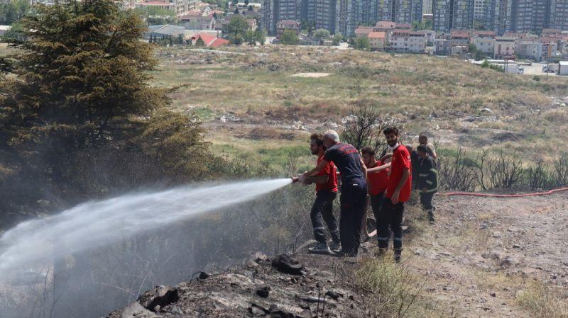 Kocaeli Haber - Kocaeli'deki Orman Yangını 1 Buçuk Saatte Kontrol Altına Alındı