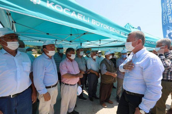 Kocaeli Haber - Büyükşehirden çiftçilere 2 milyon litre akaryakıt desteği