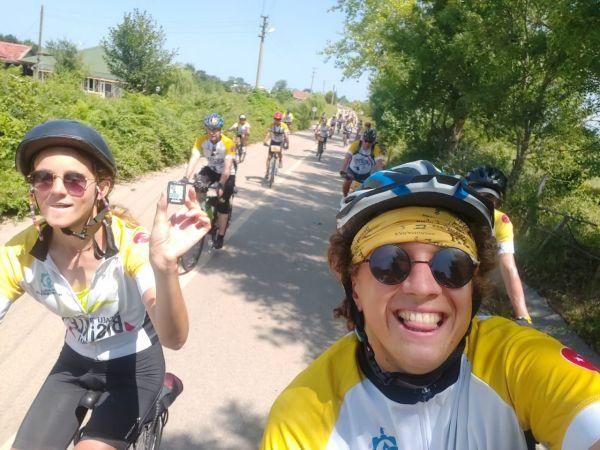Kocaeli Haber - Hollandalı Bisikletçiler 4 Bininci Kilometreyi Kocaeli'de Pedalladı