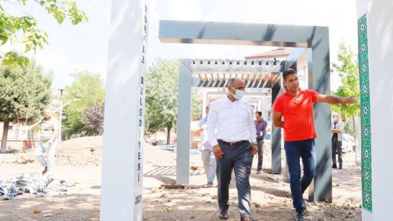 Kocaeli Haber - Cevher Dudayev Parkı'nda son dokunuşlar