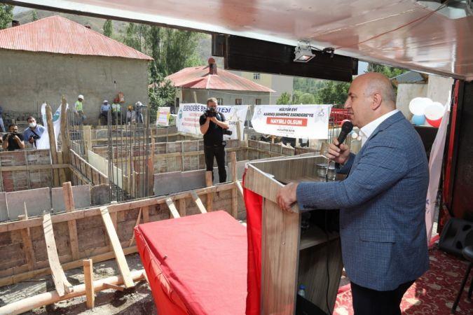 Darıca'dan Hakkari'ye kültür evi ve sosyal tesis