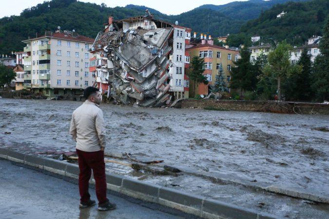Bozkurt'taki sel felaketinin boyutu gün ağarınca ortaya çıktı
