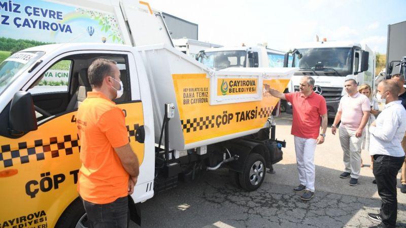 Kocaeli Haber - Çayırova'da çöp taksi hizmete başladı