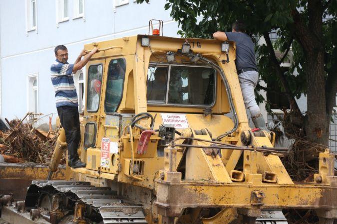 Kastamonu'da mahsur kalan vatandaşlar böyle kurtarıldı