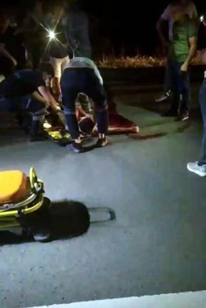 Otomobilin çarptığı özel gereksinimli birey hayatını kaybetti