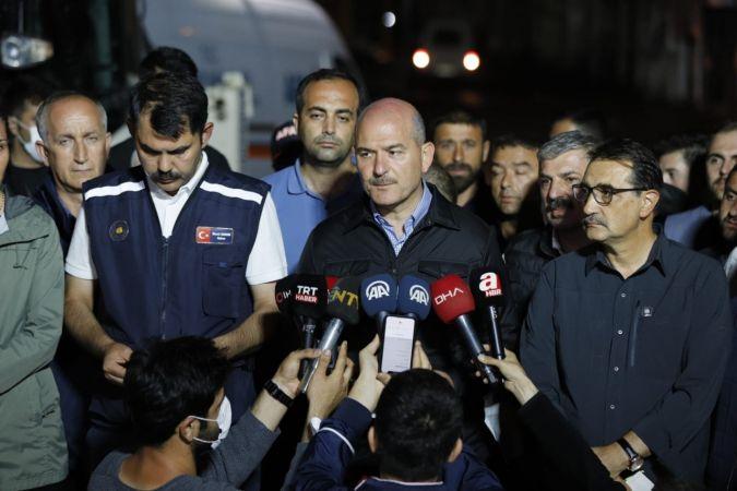 """Bakan Murat Kurum: """"454 selden etkilenen binamız var"""""""