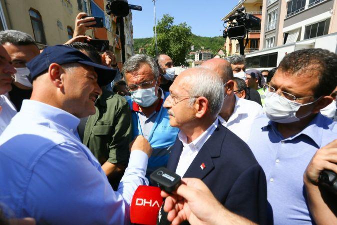 CHP Lideri Kılıçdaroğlu, Süleyman Soylu'dan bilgi aldı