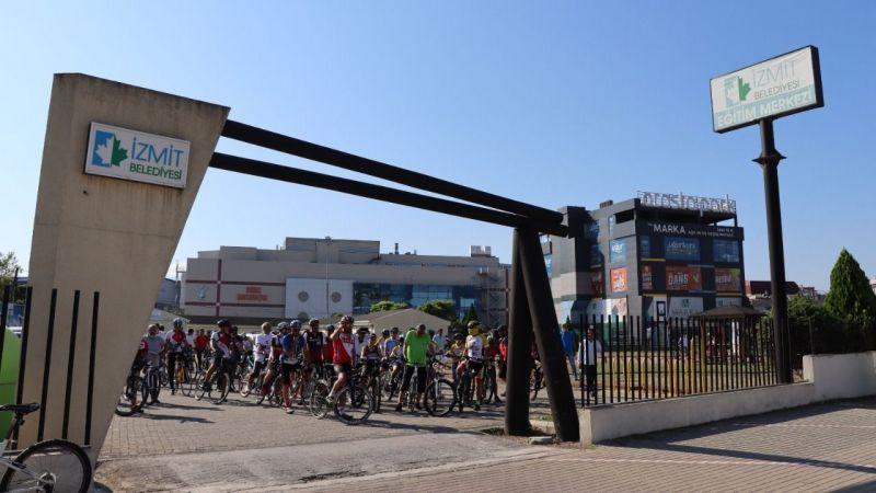 Kocaeli Haber - İzmit Belediyesi ile pedallar Cengiz Anaç için çevrildi