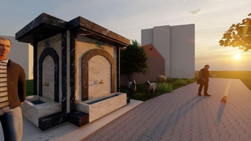 Kocaeli Haber - İzmit Belediyesi  Sarışeyh'in sembol çeşmesini yenileyecek