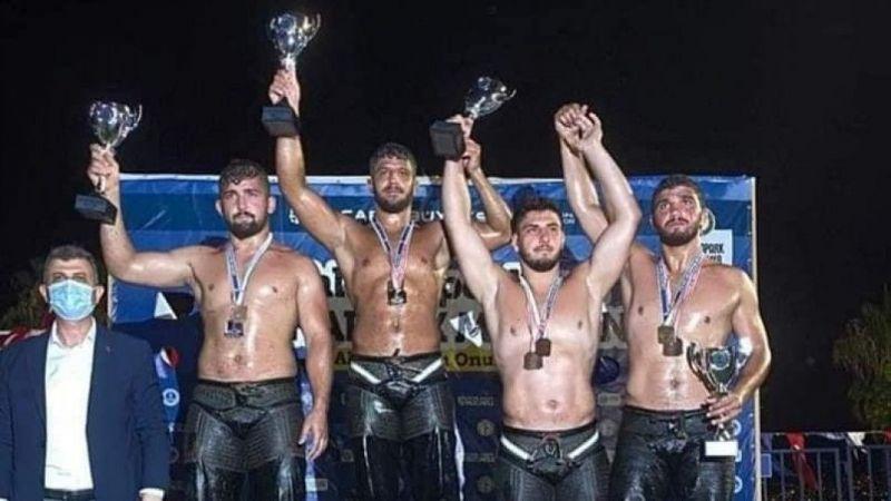 Kocaeli Haber - İzmitli güreşçiler madalyaya doymuyor
