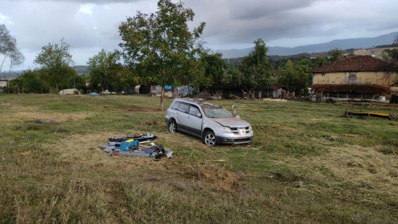 Sakarya'da otomobil takla attı: 5 yaralı