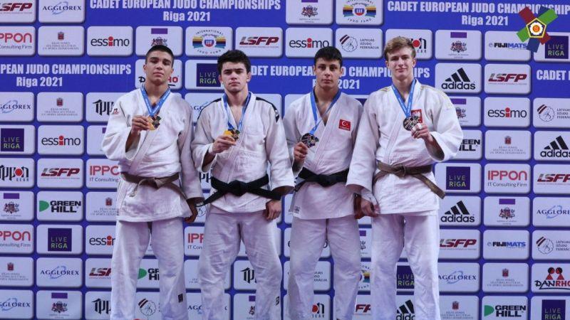 Kocaeli Haber - Judocular, Avrupa Şampiyonası'ndan 2 bronz madalya ile döndü