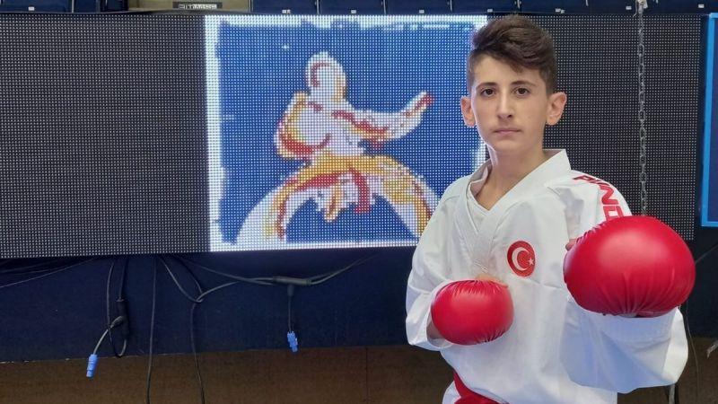 Kocaeli Haber - Çayırovalı genç karateci Avrupa 7.'si oldu