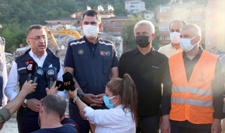 """Cumhurbaşkanı Yardımcısı Oktay: """"1 yıl içerisinde hem Sinop'u hem de Kastamonu'yu ayağa kaldıracağız"""""""