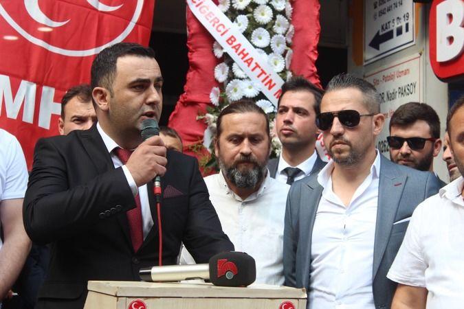 Kocaeli Haber - MHP İlçe Başkanı Göreve Başladı! Hedefi İzmit Belediyesi