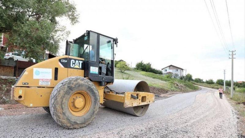 Kocaeli Haber - Başiskele'de asfaltlama çalışmaları sürüyor