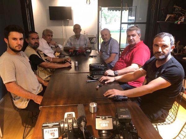Düzce Gazeteciler Cemiyeti görev dağılımını yaptı