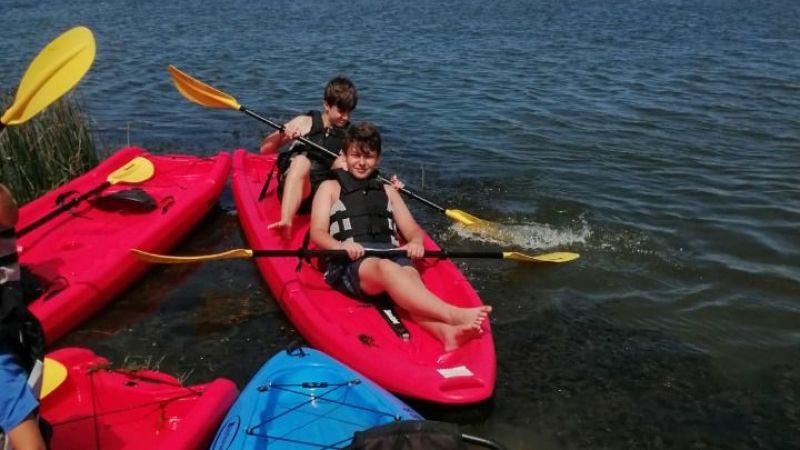 Kocaeli Haber - Kocaelisporlu yarışmacılar  Sarısu Gençlik Kampı'nın tadını çıkardı