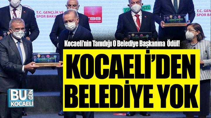 Kocaeli'nin Tanıdığı O Belediye Başkanına Cumhurbaşkanı Erdoğan'dan Ödül!