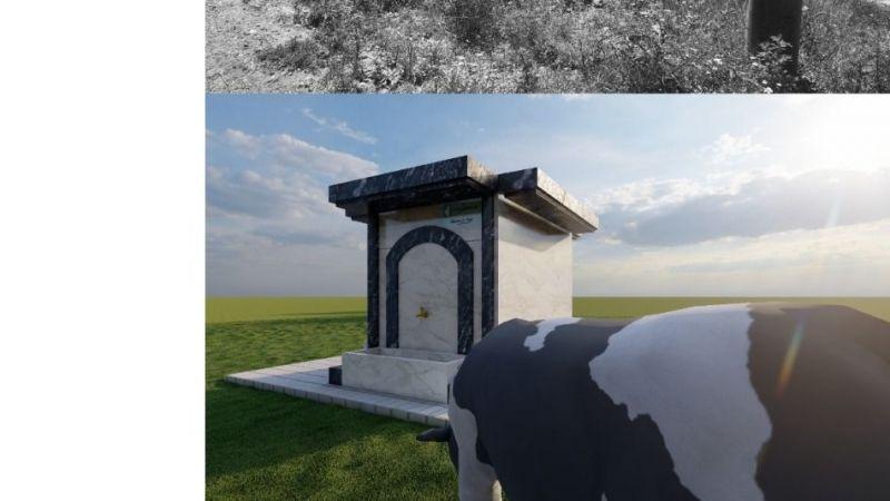 Kocaeli Haber - İzmit Belediyesi  köy çeşmelerini orijinal dokusuyla yeniliyor
