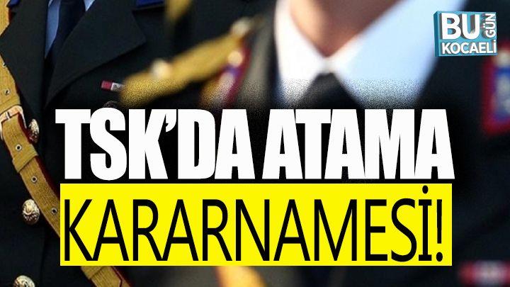TSK'da yeni atama kararları Resmi Gazete'de