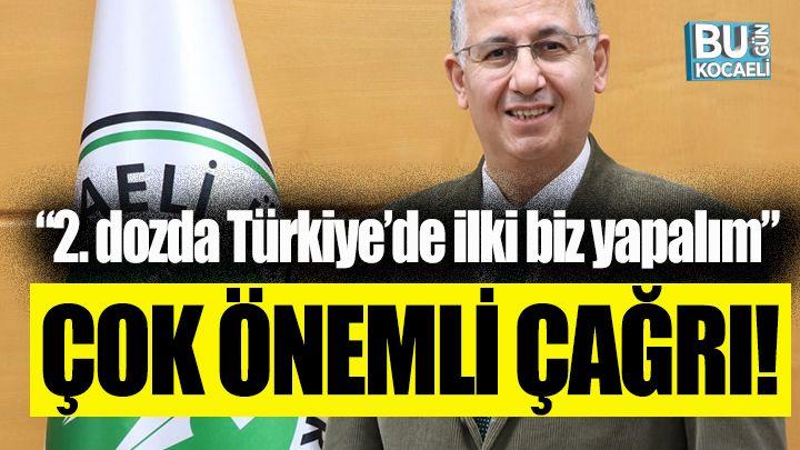 """Prof.Dr. Nuh Zafer Cantürk; """"2. dozda Türkiye'de ilki biz yapalım"""""""