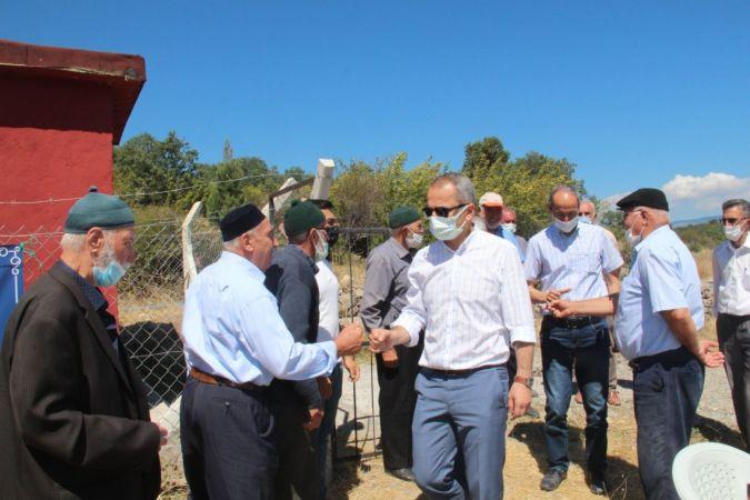 Tosya'da Sevinçören köyünde içme suyu sevinci