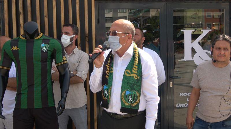 Kocaeli Haber - Kulüp Başkanından Taşkınlık Yapan Taraftarlara Sitem