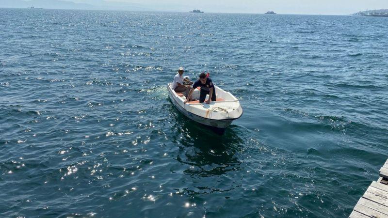Kocaeli Haber - Tekne Üzerinde Kedi Kurtarma Operasyonu