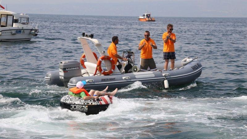 Kocaeli Haber - Özel bireyler, deniz festivalinde doyasıya eğlendi