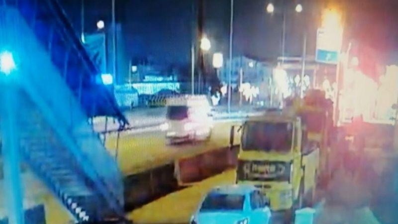 Kocaeli Haber - 7 İşçinin Yaralandığı Kazanın Görüntüleri Ortaya Çıktı