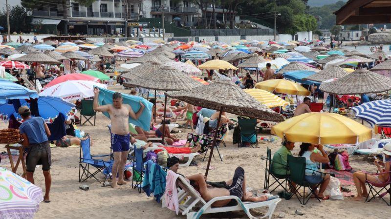Kocaeli Haber - Sezonun Bitimine Sayılı Günler Kala Plajlar Doldu Taştı