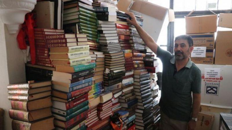 Kocaeli Haber - Çürümeye Terk Edilen Kitaplarla Şehitlerin Adını Kütüphanelere Yazdı