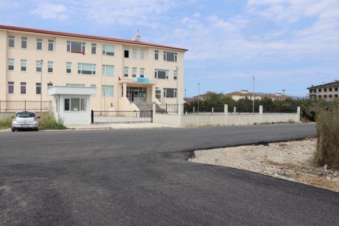 Düzce Belediyesi yollar da eğitime hazır hale getirildi