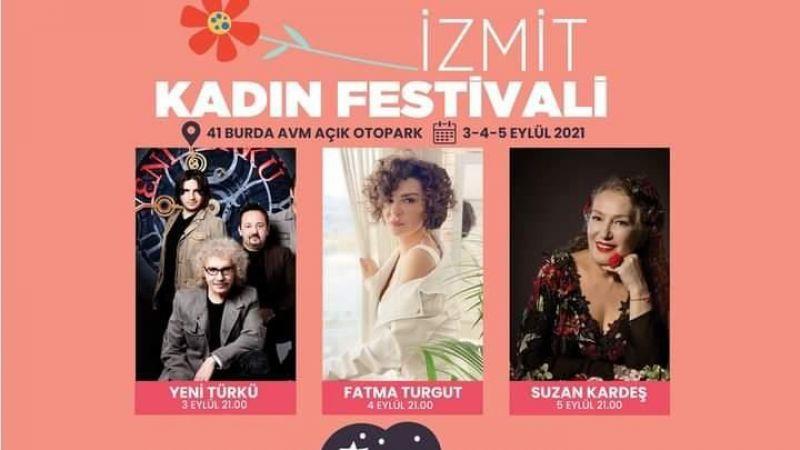Kocaeli Haber - İzmit Kadın Festivali yarın başlıyor