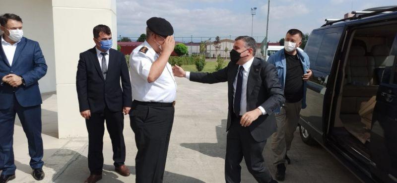 Albay Naci Akkaş göreve başladı